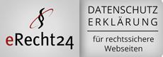 eRecht24-Datenschutz-Siegel